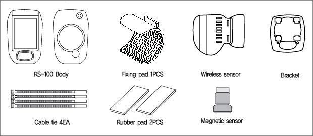 RS-100 제품구성