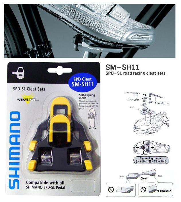 sm-sh11 spd sl cleat