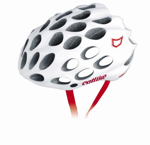 2011-Catlike-Whisper-Plus-Deluxe-R054P-Cycling-Helmet-Red-Strap