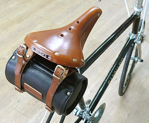 Bicycle Saddle Bags Leather Leather Bicycle Seat Bag