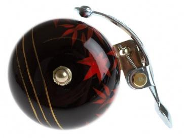Crane Hand Painted Suzu Bell Maple