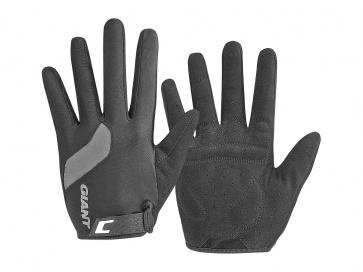 Giant Tour Long FInger Gloves Black Black