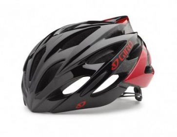 Giro Savant Road Helmet Asian Fit Red Black