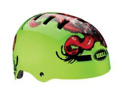 Bell Faction Bicycle Helmet Glow Green Tentaskull