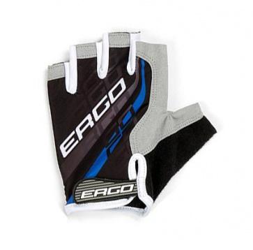 Ergo Flex Half Bicycle Gloves Micro Hexa Pad Blue