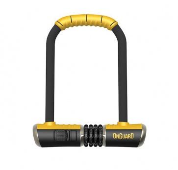Onguard 8010C Bulldog Combo STD U-Lock 115x230mm 13t