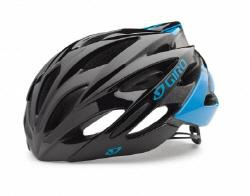 Giro Savant Road Helmet Asian Fit Mat Blue Black