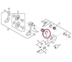 Shimano RD-5700 Rear Derailleur P Sealing Y5UC14000