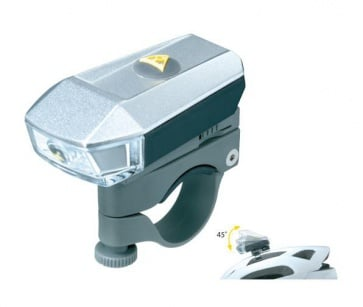 Topeak AeroLux 1Watt USB Front Light TMS072