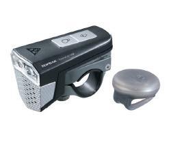 Topeak Soundlite USB Rechargable Light and Bell Black