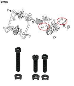 Sram Rear Derailleur 10SP B-Screw Limit Kit XO Type2