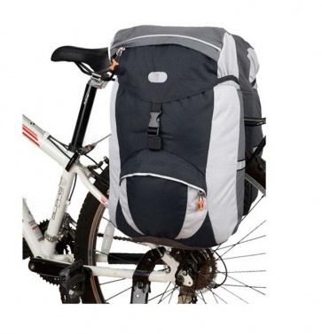 Detours Pannier Cycle R-L Set 60L Black