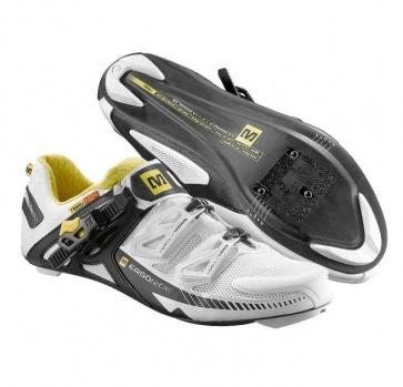 Mavic Zxellium Road Bike Cycling Shoes White Black