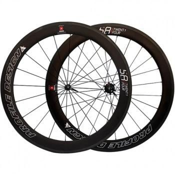 Profile Design 58 TwentyFour Full Carbon Clincher set