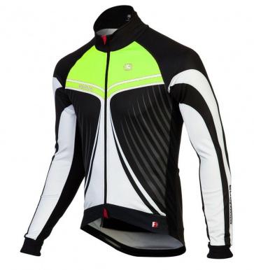 Giordana FR-C Trade Cycling Jacket Wings Green