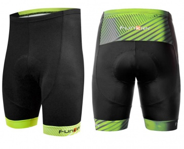 Funkier Arona B14 Mens Cycling Shorts Black