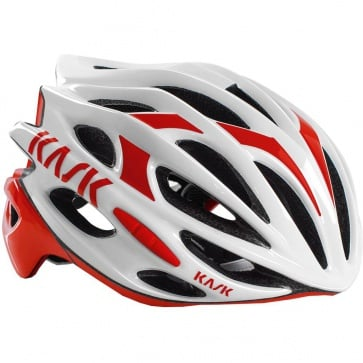 Kask Mojito Helmet White Red