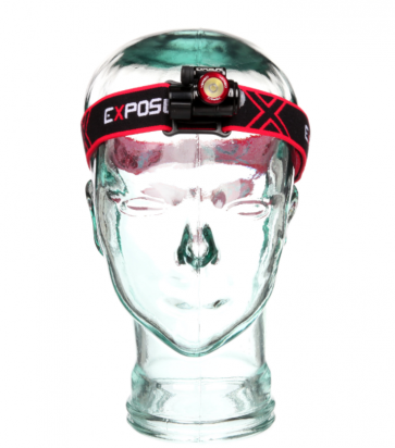Exposure Lights Verso MK2 Head Torch In Red