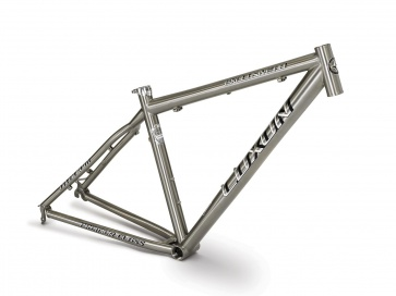 2012 Elfama Luxon Exclusive A Titanium Bicycle MTB Frame Triple Butted