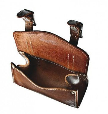 Alphaone SB-005-M Handlebar Leather Bag