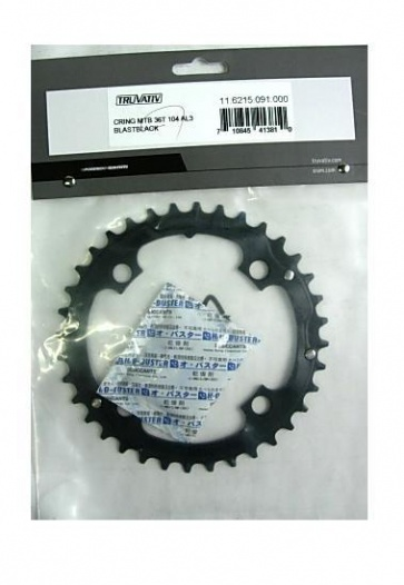 TRUVATIV BIKE BICYCLE CHAINRING 36T 104mm