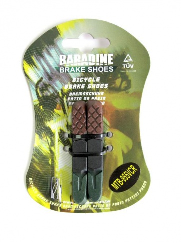 Baradine MTB-955VCR brake shoes pads 72mm