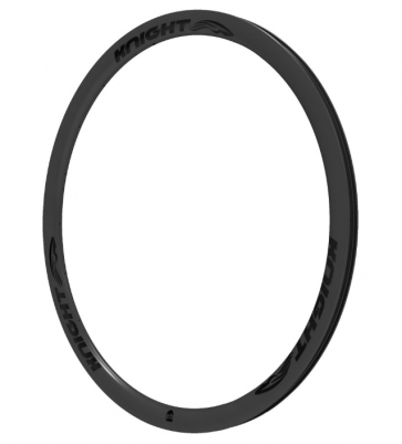 Knight Composites 35 Carbon Rim Clincher Front 700c Black