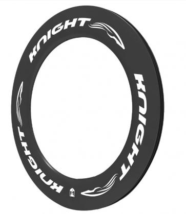 Knight 95 Carbon Rim Clincher Front 700C White