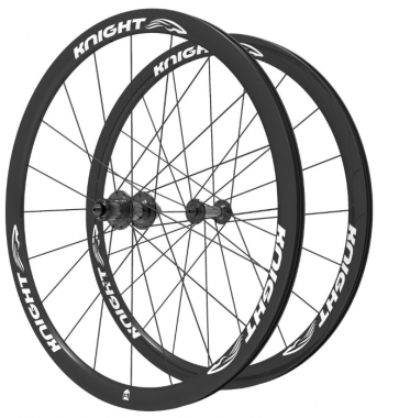 Knight Composites 35W-Dt Swiss 240s Carbon Clincher Rear Wheelset- 700c white