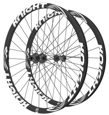 Knight Composites 27.5 Plus Carbon Fiber Wheelset-Dt 240-12*142