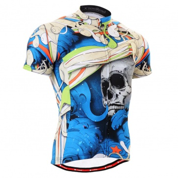 Fixgear Bicycle Cycling Mens Jersey Short Sleeves CS19B2
