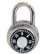 Ikon Lock 50mm Combination Round  Padlock