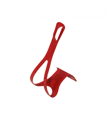 NJ5 Steel Toe Clips Large Red