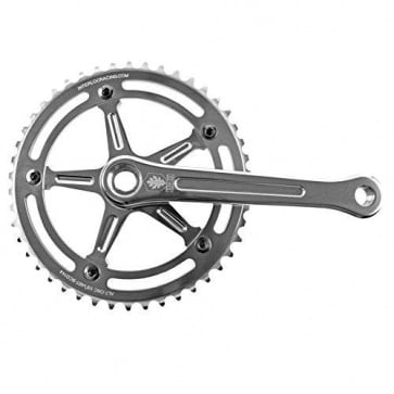 Ird Crank Track Defiant 46t 1-8 Inch 170mm Silver
