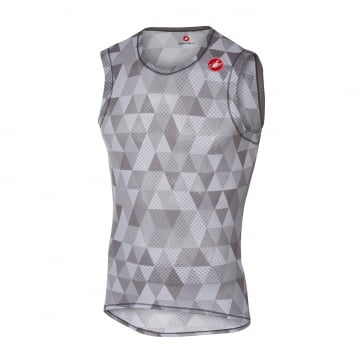 Castelli Pro Mesh Sleeveless Base Layer Grey