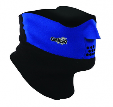 Gator Face Mask Duo Black L