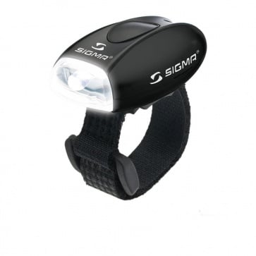 Sigma Micro - Safety Light With White LED-Black