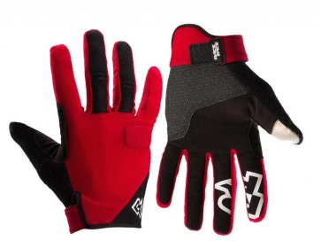 Race Face Trigger Gloves Red
