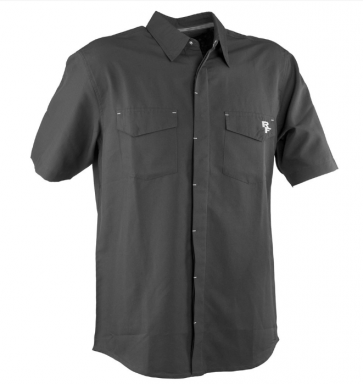 Race Face Shop Shirt- Short Sleeve Black