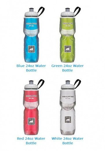Polar Bottle Insulated Solid 24oz 5 Colors