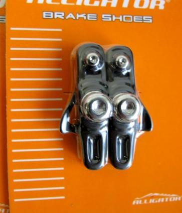 Alligator RD-302-1 Road bike cartridge brake shoes pads black