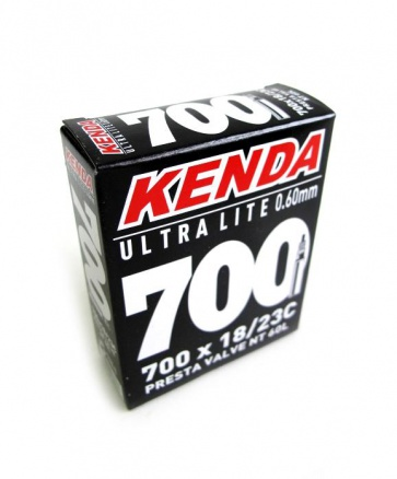 Kenda ULTRA LITE 0.60mm 700 x 18-23C Road Bike Inner Tube F/V 48mm Long Presta