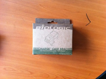 Biologic ReeCharge Case Bracket bicycle mount kit