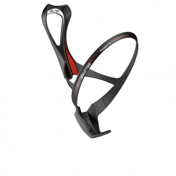 Elite Leggero Carbon Bottle Cage - Black- Red