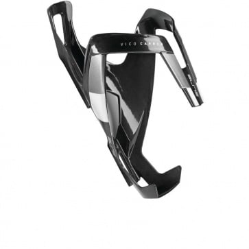 Elite Vico Carbon Bottle Cage Black Glossy