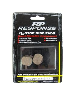 Response Quad QHD-4.1/5.1/5.2/7/7.1 Disc Brake Pads
