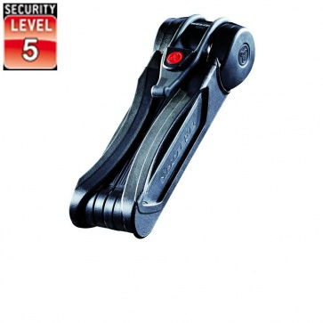 Trelock Fs500-90 Toro Folding Lock Zf 500 Black
