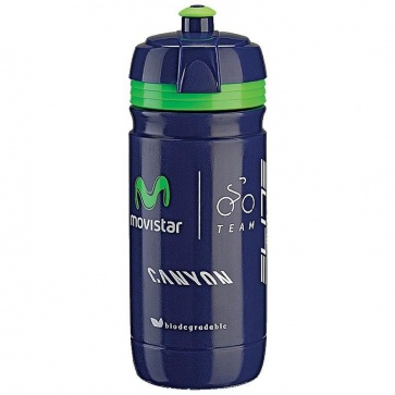 Elite Corsa Water Bottle 550ml - Movistar