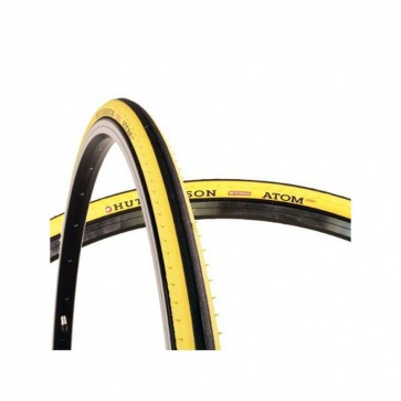 Hutchinson Atom Comp Tire 700x23 Yellow