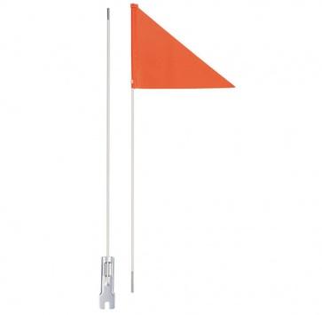 "ICE TOOLZ SAFETY FLAG 60"" 2-PIECE w/ ORANGE FLAG"